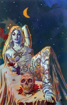 Art by Dan Brereton uploaded by Meek on We Heart It Arte Heavy Metal, Dark Fantasy, Fantasy Art, Caravaggio, Psy Art, Famous Monsters, Arte Horror, Horror Comics, Vintage Horror