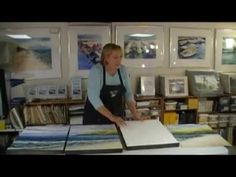 How to Mount a Watercolor Painting on Board
