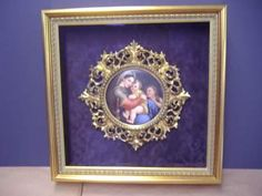 Frame an antique frame to preserve it.