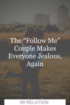 "The ""Follow Me"" Couple makes everyone jealous, again Love Sites, You Broke Me, Follow Me, Jealous, Relationship Quotes, Couples, How To Make, Movie Posters, Film Poster"