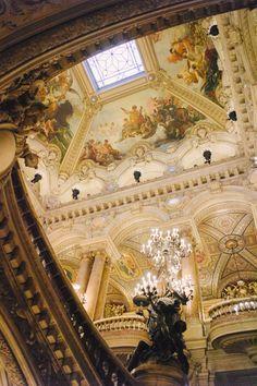 The Palais Opéra Garnier Located in Paris, France. Monuments, Blog Voyage, Concert Hall, Versailles, Architecture, Paris France, Mythology, Opera House, Road Trip