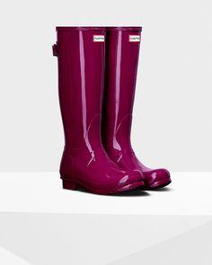 Women's Original Adjustable Gloss Rain Boots