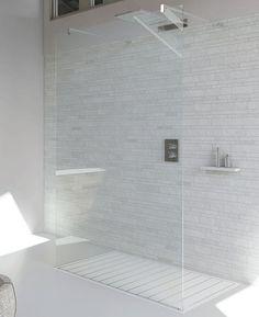 Cabine de douche ilôt WALL C Collection Wall by RELAX | design Franco Bertoli