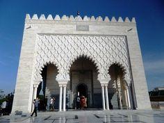Rabat - Mausoleul Mohamed V