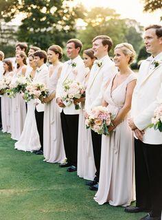 Photography: Graham Terhune Photography - grahamterhune.com Bridesmaids' Dresses: Joanna August - www.joannaaugust.com/ Groomsmen Attire: VIP Formal Wear - www.vipformalwear.com/   Read More on SMP: http://www.stylemepretty.com/2016/03/22//