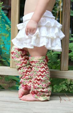 crochet baby leg warmers pattern | ... and lace baby leg warmers crochet PDF pattern for baby and kids