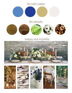 Event Design Board - Carmel Housewarming Party >  Elizabeth Fortune LLC