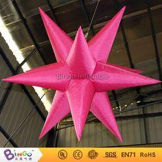 Stage Nightclub Party Decoration Hanging Inflatable Light Star Lighting  Inflatable Star With Cheap Price Light Up. Valentines ...