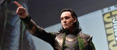 So Tom Hiddleston Crashed Marvel Studios SDCC Panel Yesterday. Dressed as Loki. And We Have Video.