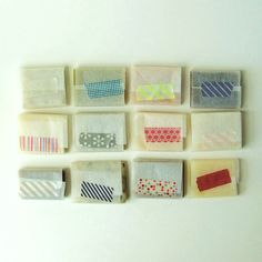 Lovely little soaps from prunella soap. I want some just for the packaging!