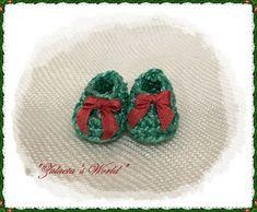 """Zapatos de ganchillo,con tutorial  MUY CLARO de  """"Zulueta's World"""" miniature"""