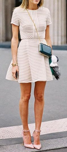 "Ladylike. ♥♡♥♡♥Thanks, Pinterest Pinners, for stopping by, viewing, re-pinning,  following my boards.  Have a beautiful day! ^..^ and ""Feel free to share on Pinterest ^..^ #streetfashion   #fashionupdates   #women"