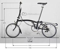 Folding bike Brompton M6R | Skládací kolo Brompton M6R > Priblizovadla.cz