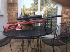 HW100 Air Rifle Hunting, Hunting Rifles, Rifle Stock, Outdoor Tables, Outdoor Decor, Snipers, Pistols, Weapons, Guns