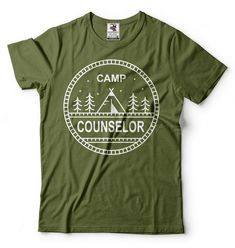 Camping T-shirt Camp Counselor Shirt Summer Camp Counselor Tee Shirt - Trend Camping Outfits 2020 Camping Hacks, Camping Meals, Tent Camping, Camping Set, Camping Packing, Camping Style, Camping Recipes, Beach Camping, Camping Essentials
