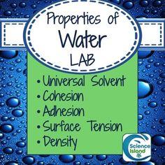 biology properties of water lab Ap biology: the properties of water essay on biology properties of water lab _____ properties of water lab introduction.