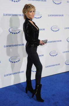 Jane Fonda {aging well}