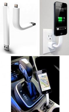 This Lightning charging cable also functions as a stand for your iPhone 5 Watch this http://blogregateapps.com