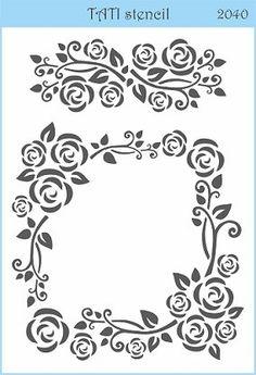 Трафарет объёмный TATI stencil 2040. цена: 50.00 грн. - А5, 20 х 15 см. Трафареты TATI stencil Hobby & Decor - товары для рукоделия