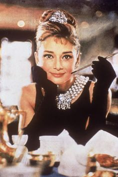 Audrey Hepburn/Breakfast at Tiffany's: Total classics, the woman and the photo.