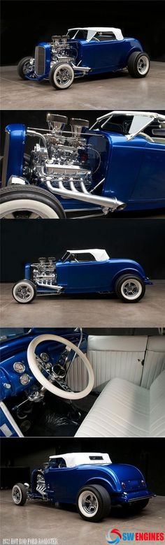 #SWEngines Check out the very best 1932 FORD HOT ROD CUSTOM ROADSTER