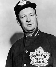 Coach & GM Punch Imlach - 4 Stanley Cups in the Blackhawks Hockey, Hockey Mom, Chicago Blackhawks, Ice Hockey, Maple Leafs Hockey, We The Kings, Different Sports, Buffalo Sabres, O Canada