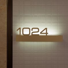 Some really effective room signage here from the Fairmont, Sonoma, California. Increasing attention is paid to the graphic details in hotel design, . Door Signage, Hotel Signage, Wayfinding Signage, Signage Design, Lobby Design, Design Hotel, Best Door Designs, Design Stand, Signage Light