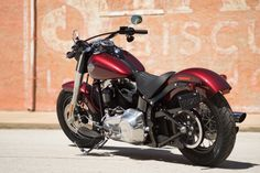The perfect blend of classic, raw bobber style and the power of a High Output Twin Cam 103 engine. | 2016 Harley-Davidson Softail Slim