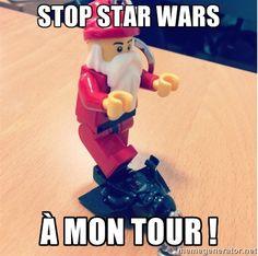 Quelqu'un a quelque chose à vous dire ! #Noel #DarkVador #StarWars
