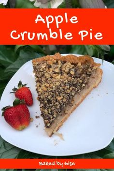 Crumble Pie, No Bake Pies, Banana Bread, French Toast, Apple, Baking, Breakfast, Desserts, Food