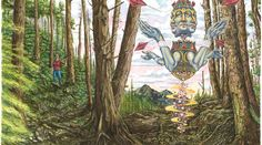 Jack Lockett - Illustration Called The Woods