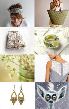 A Green Glow by Julia on Etsy--Pinned with TreasuryPin.com