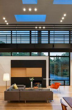 Casa Komai / Robert M. Gurney Architect, Virginia http://www.arquitexs.com/2014/03/casa-Komai-Robert-Gurney-Architect.html