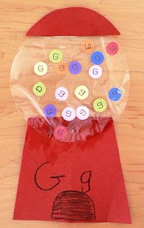 G is for gumballs.