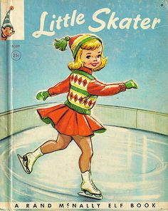"Cute cover  I LOVED this book, I would ""study"" it, I wanted to be an Ice skater soooo bad."
