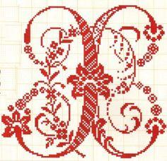 Filomena Crochet e Outros Lavores: - Monogramas e alfabeto