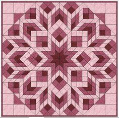 (7) Name: 'Quilting : Diamonds & Squares