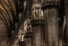 Relighting of Milan Cathedral