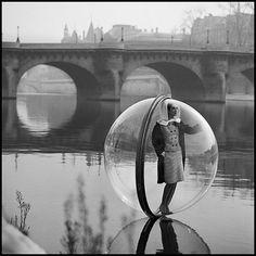 Simone D'Aillencourt by Melvin Sokolsky