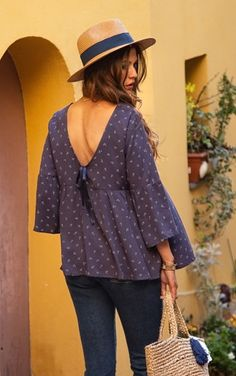 #terreetmer #nice #frenchriviera Bell Sleeves, Bell Sleeve Top, French Riviera, Nice, Blouse, Tops, Women, Fashion, Blouse Band