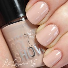 "Maybelline Color Show nail polish in ""Neutral Statement"" #nails #neutral #ideas http://www.jexshop.com/"