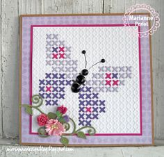 Marianne Design Extra Folder Cross Stitching Cutting Tool