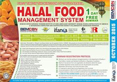 Business Excellence and Management Consortium added 11 new photos to the album: Training Flyer Quarter Halal Recipes, Jeddah, Food Safety, First Time, Management, Nutrition, The Unit, Business, Training