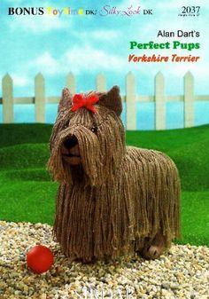 Alan Dart's Perfect Pups Yorkshire Terrier (Sirdar Knitting Pattern 2037) by Alan Dart, http://www.amazon.co.uk/dp/B004D4LVMK/ref=cm_sw_r_pi_dp_9mNitb0QPANVD
