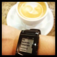 O café fica pra depois.