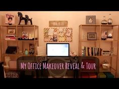 ▶ My Office Makeover Reveal and Tour