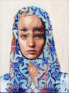 Blue - Multiple eyes - woman - Alex Garant