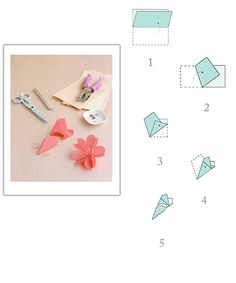 Alice Kersten, Lovn Silva-thanks a bunch! just throw them in a bag. Paper Flowers Diy, Flower Crafts, Diy Paper, Art Crafts, Diy And Crafts, Paper Crafts, Crafts For Kids To Make, Diy For Girls, Diy Phone Case