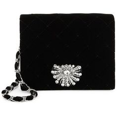 Badgley Mischka Quilted Velvet Clutch ($120) ❤ liked on Polyvore featuring bags, handbags, clutches, handbags clutches, badgley mischka handbags, velvet purse, man bag and purse clutches