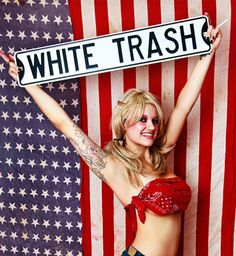 Image tagged in white trash Trailer Trash Party, White Trash Party, Redneck Party, Scum Of The Earth, Guilty Conscience, Ann Coulter, Black Panther Party, Sean Hannity, The Big Lebowski